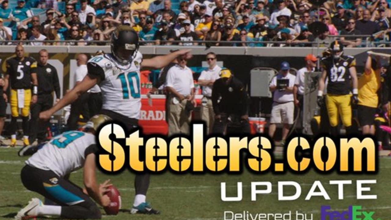 694d84897 UPDATE  Steelers trade for kicker Josh Scobee
