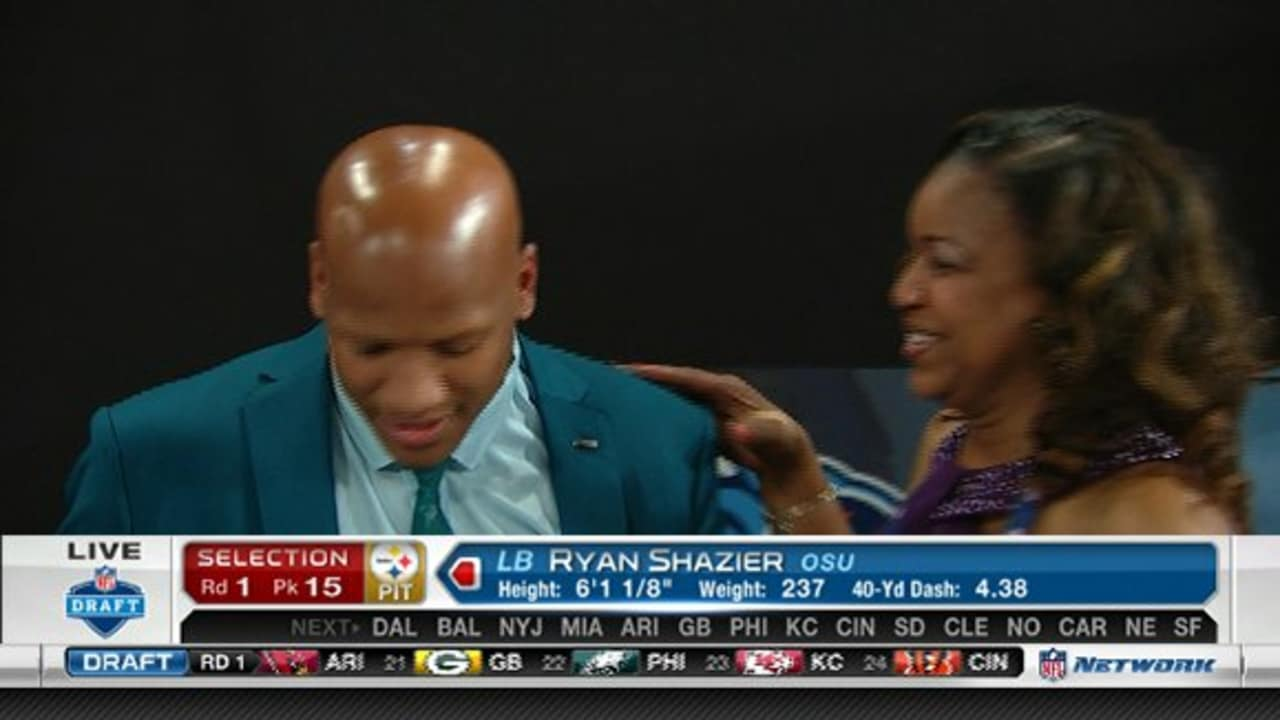 bd085c2f2a4 Pittsburgh Steelers select Ryan Shazier with No. 15 pick