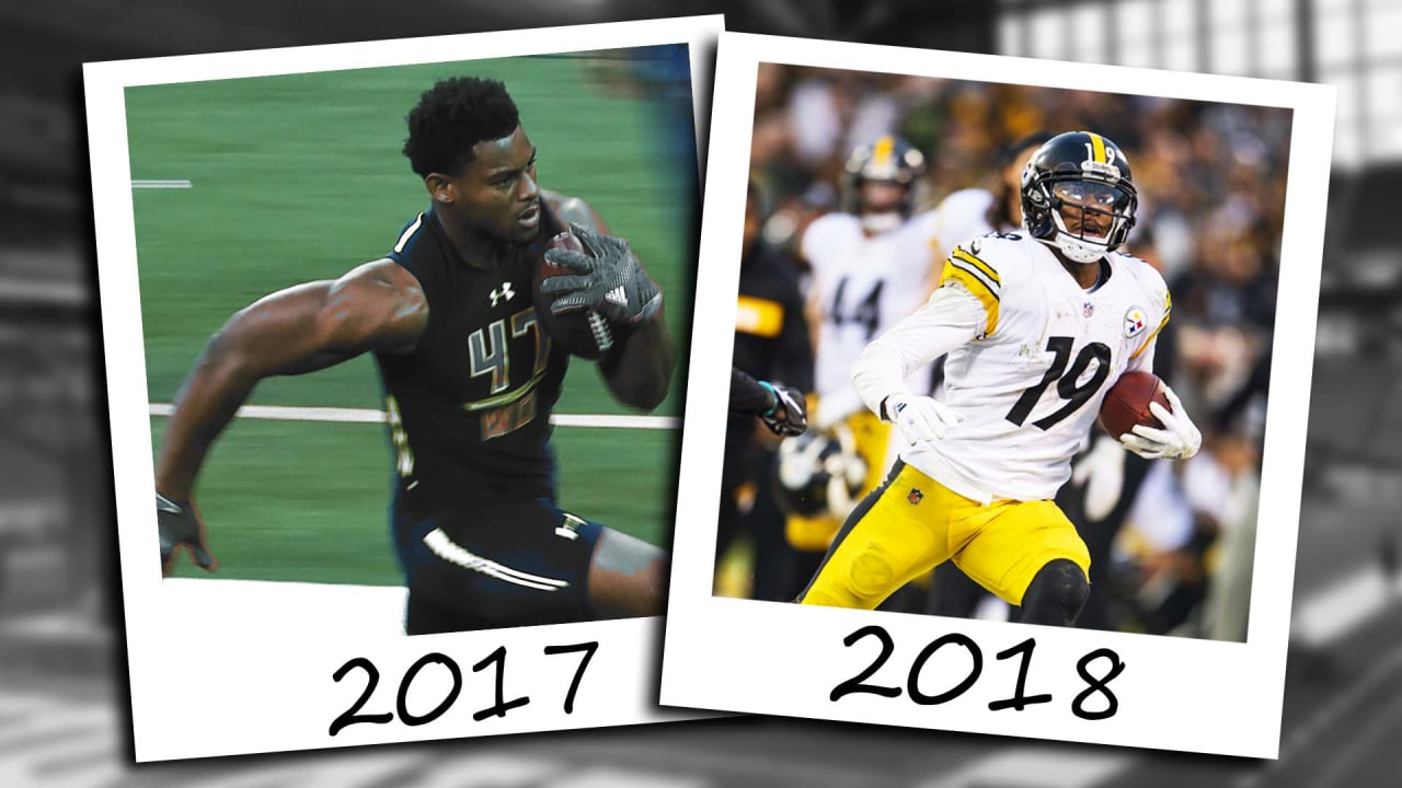 860b6650b64 Then   Now  JuJu Smith-Schuster