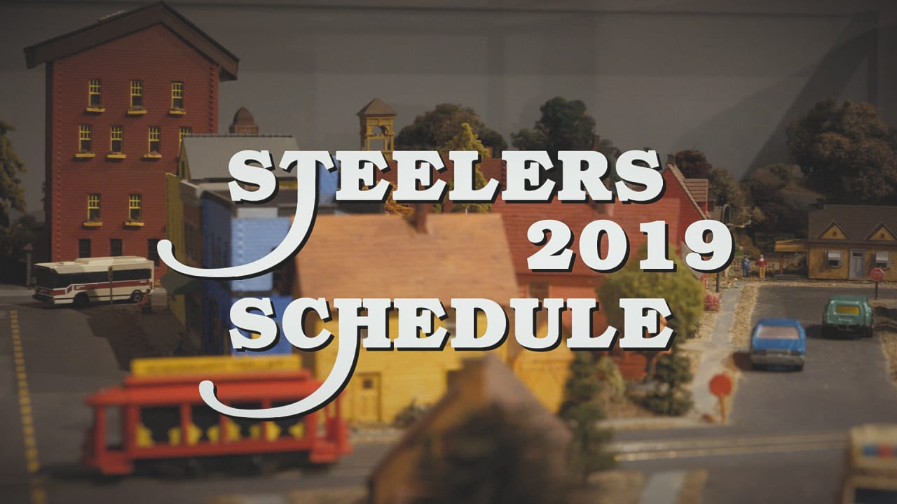 image relating to Miami Dolphins Printable Schedule identify Steelers launch 2019 program