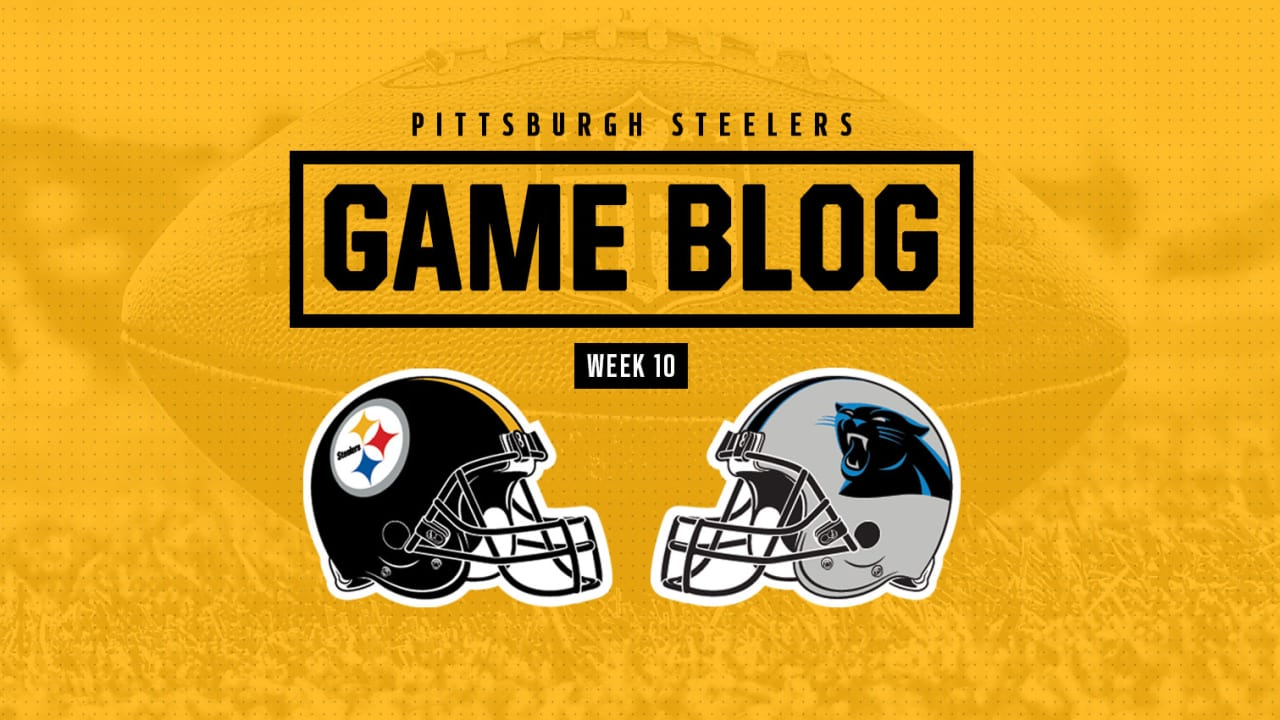 bcdede55d9a Game Blog: Steelers vs. Panthers