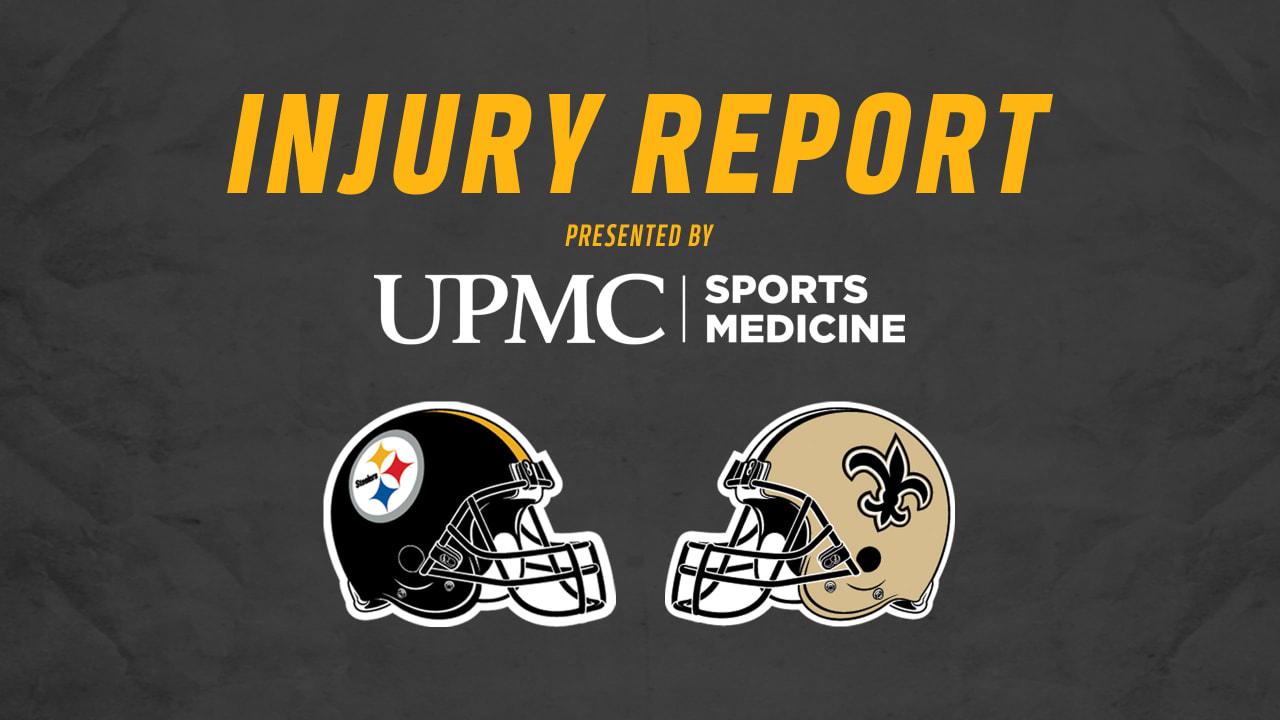 55afa059c Week 16 Injury Report (Saints)