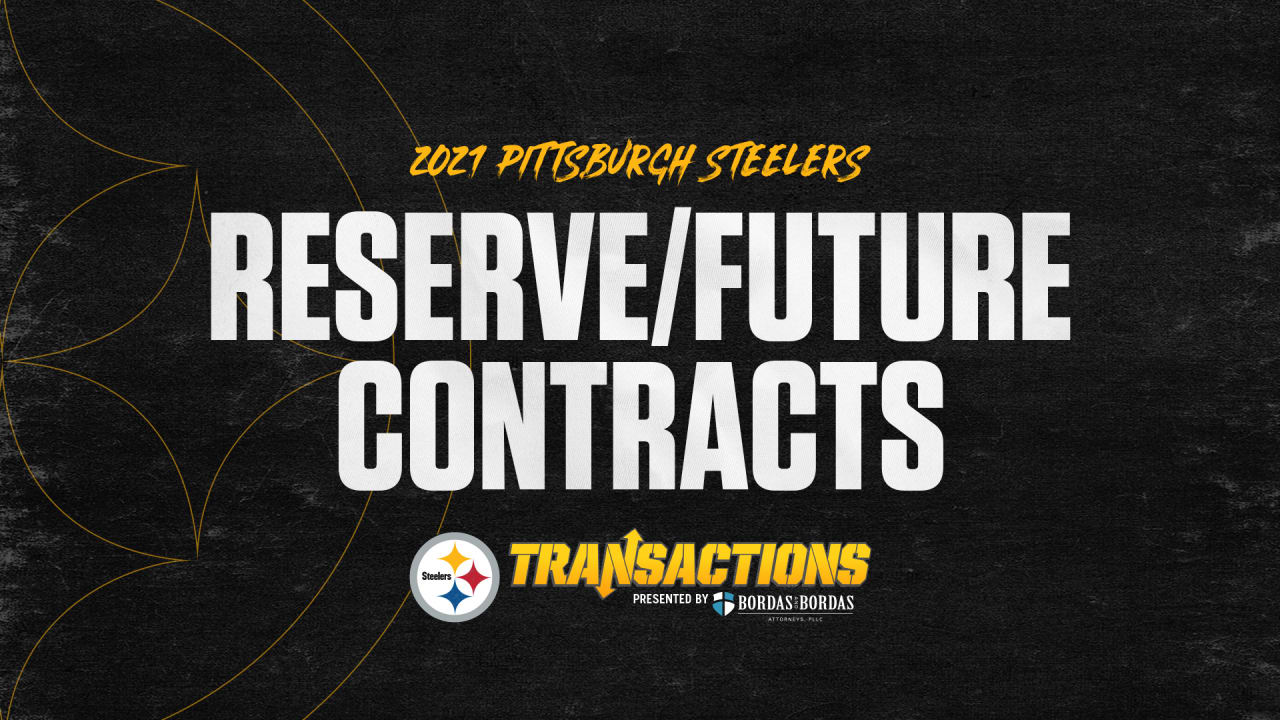 Steelers sign four to Reserve/Future contracts