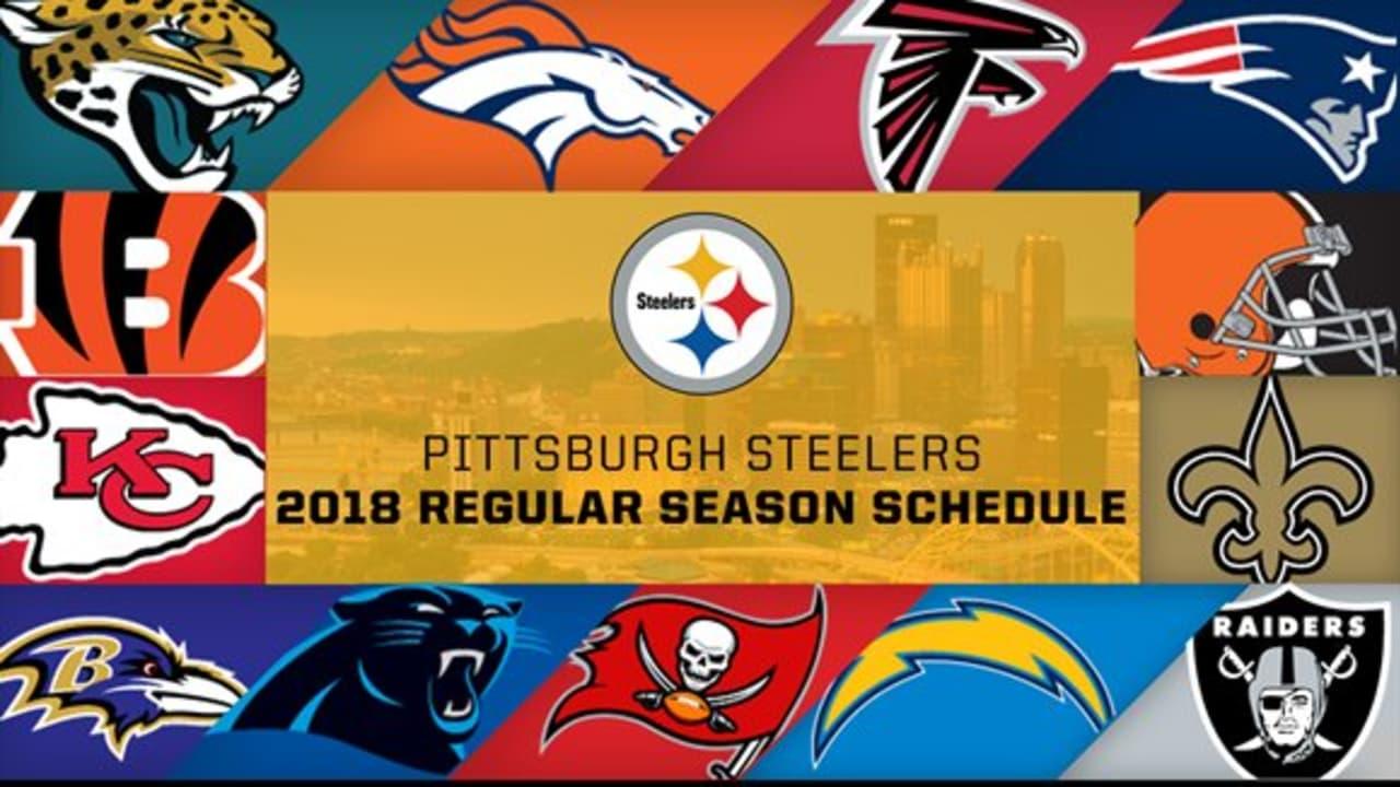 Steelers 2018 Schedule Release
