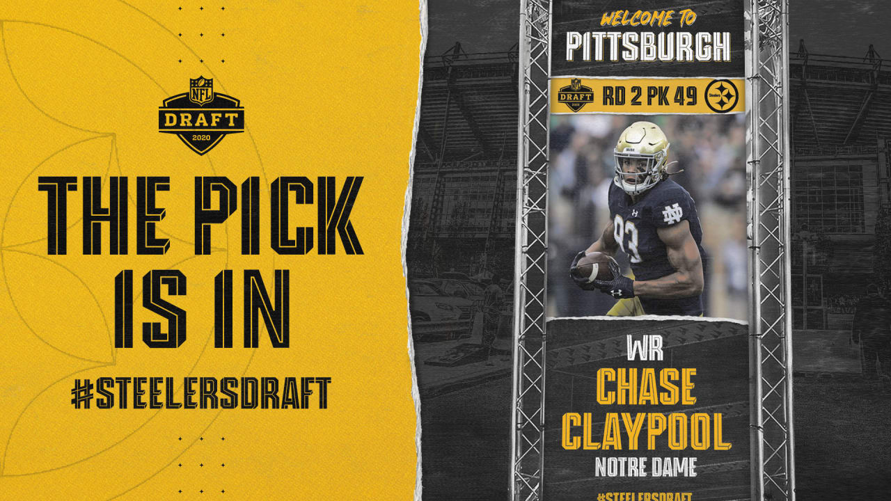 Steelers select Claypool in the second round - Steelers.com