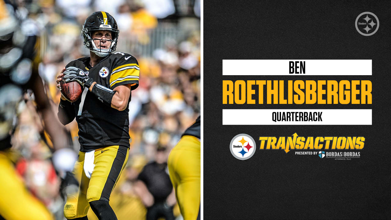 e9a549b22 Roethlisberger signed to three-year deal