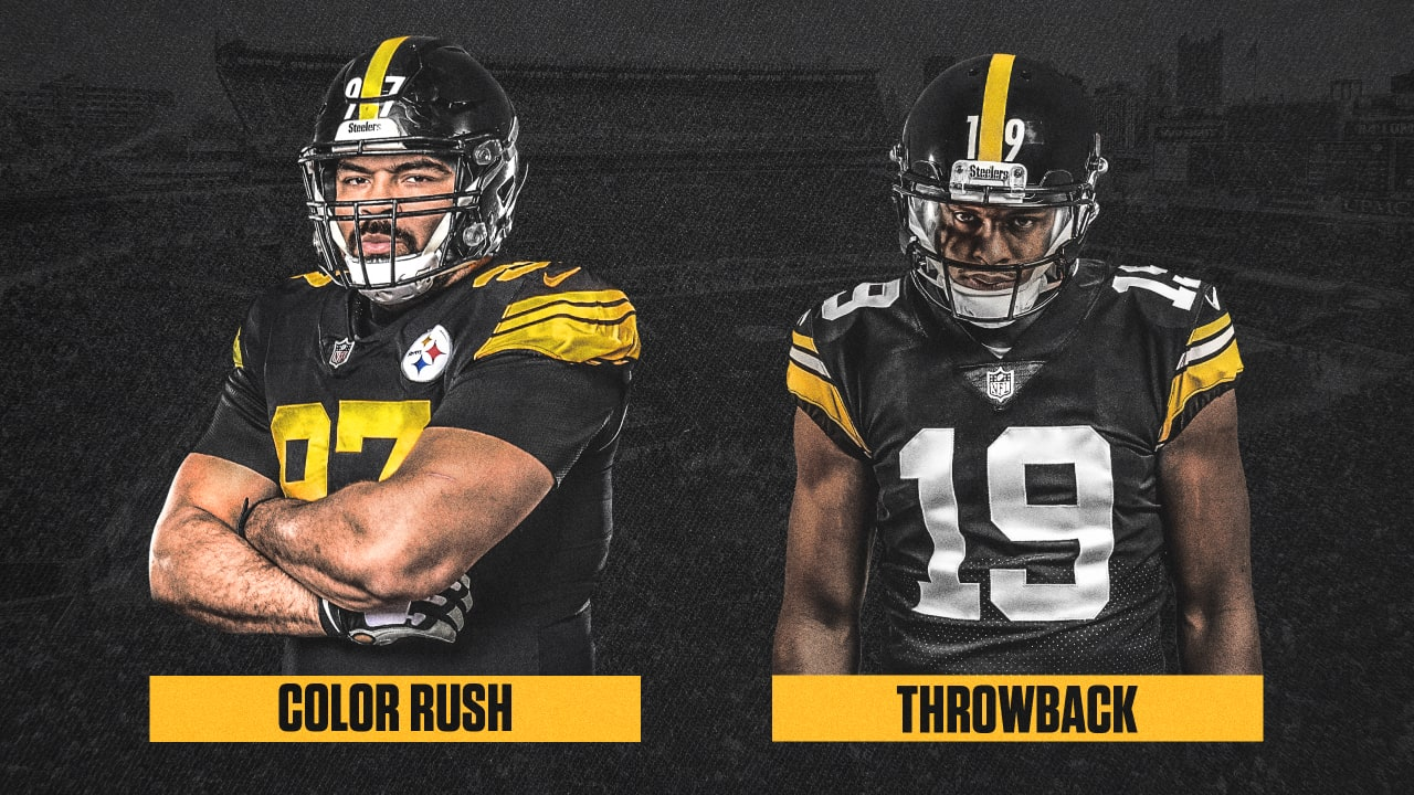 on sale d6eed 56b9e Color Rush, Throwback jersey dates revealed