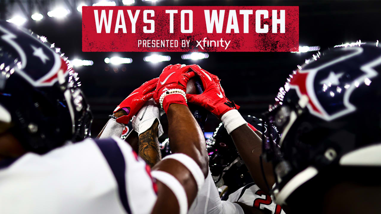 How to Watch, Listen and Follow Houston Texans Gameday