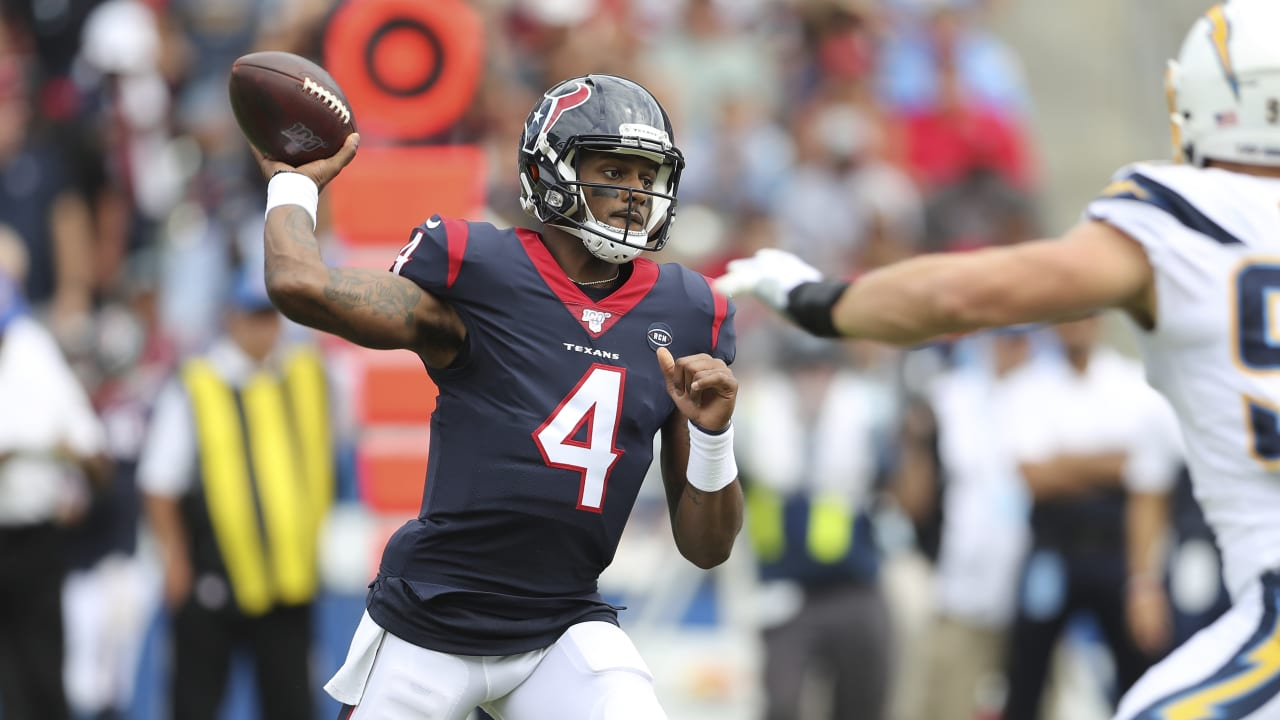 new products b0c21 8e556 Deshaun Watson, Texans erupt in 2nd half at Los Angeles