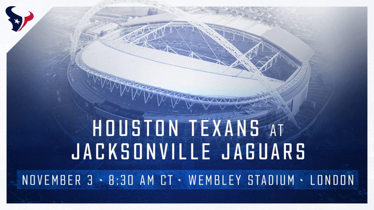 f086df7f Texans to play Jaguars in London in Week 9