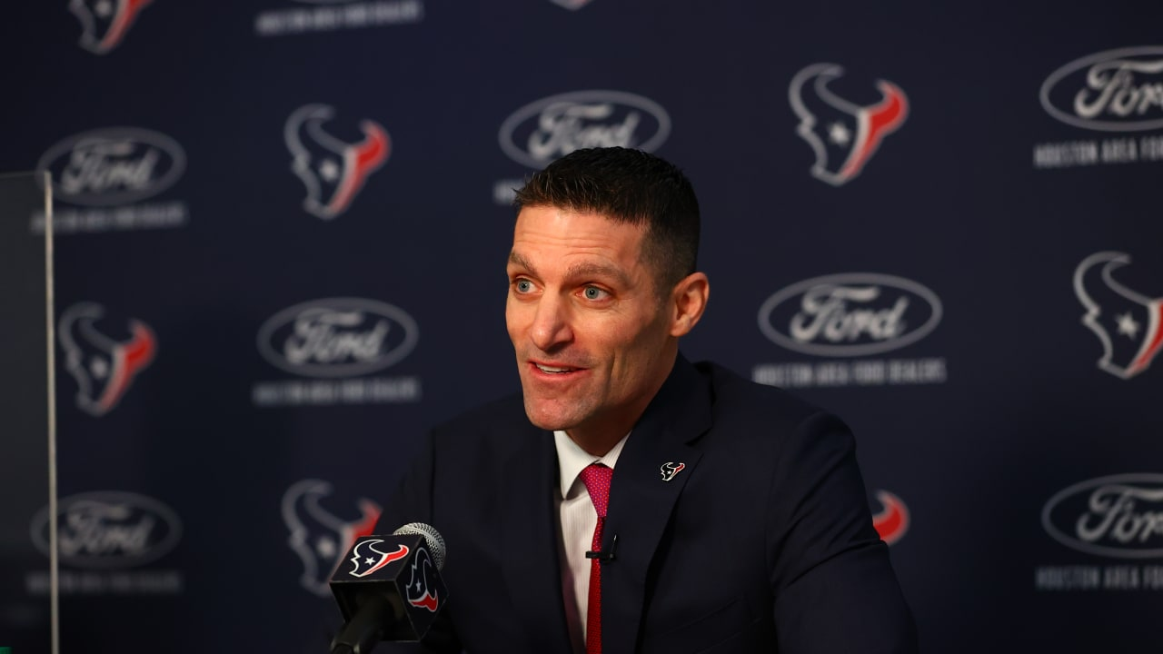 Here are five of the key takeaways from Nick Caserio's introductory press  conference as Texans general manager.