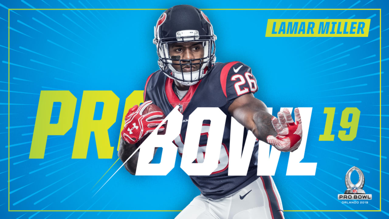 Texans RB Lamar Miller named to 2019 Pro Bowl