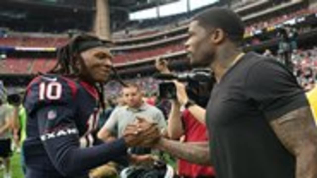 db045a94eaa Andre Johnson immortalized in Texans Ring of Honor