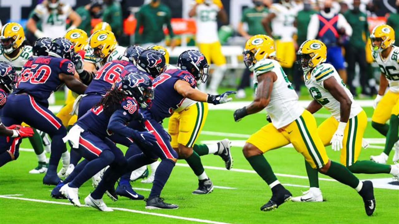 After Falling Behind 21 0 By Halftime The Texans Lost 35 20 To The Green Bay Packers