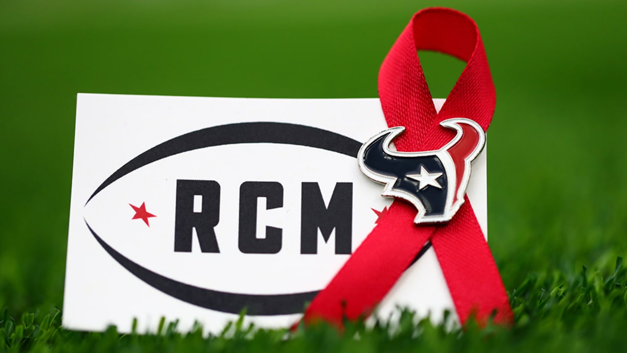 78f7a864e2c4be Texans to wear red ribbon to honor Robert C. McNair's memory