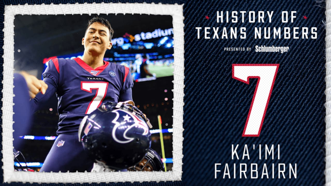 Check out Ka'imi Fairbairn and all the other players who have worn ...