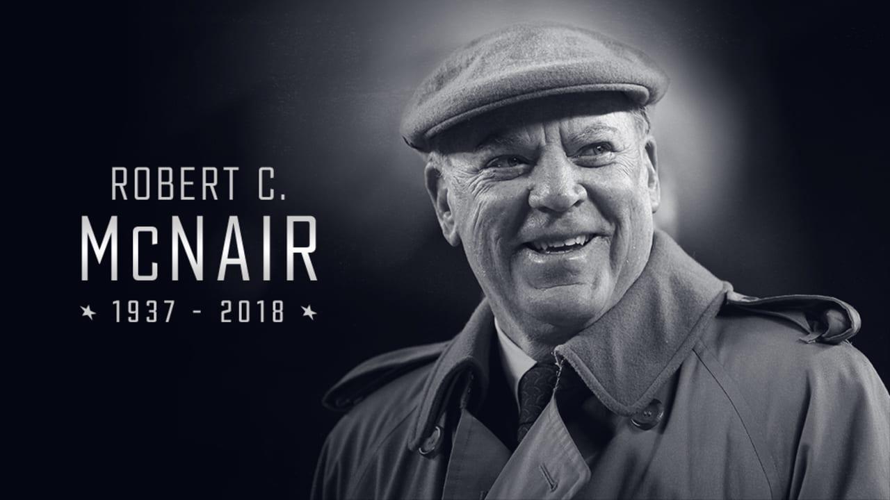 separation shoes d8778 b5881 Houston Texans Founder, Senior Chairman   CEO Robert C. McNair Passes Away