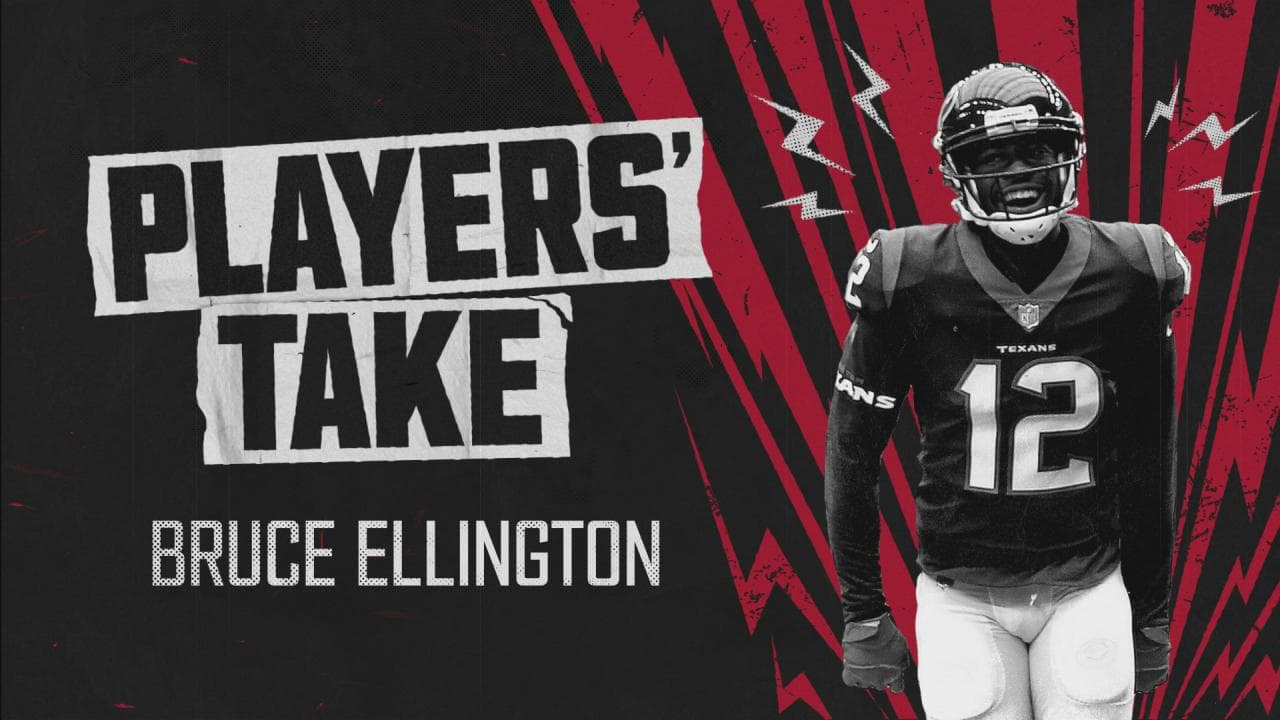 bruce ellington texans jersey
