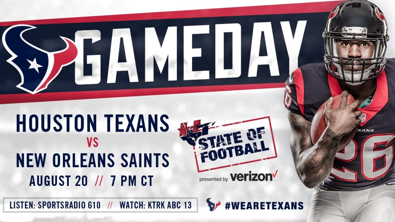 Houston Texans Gameday Information