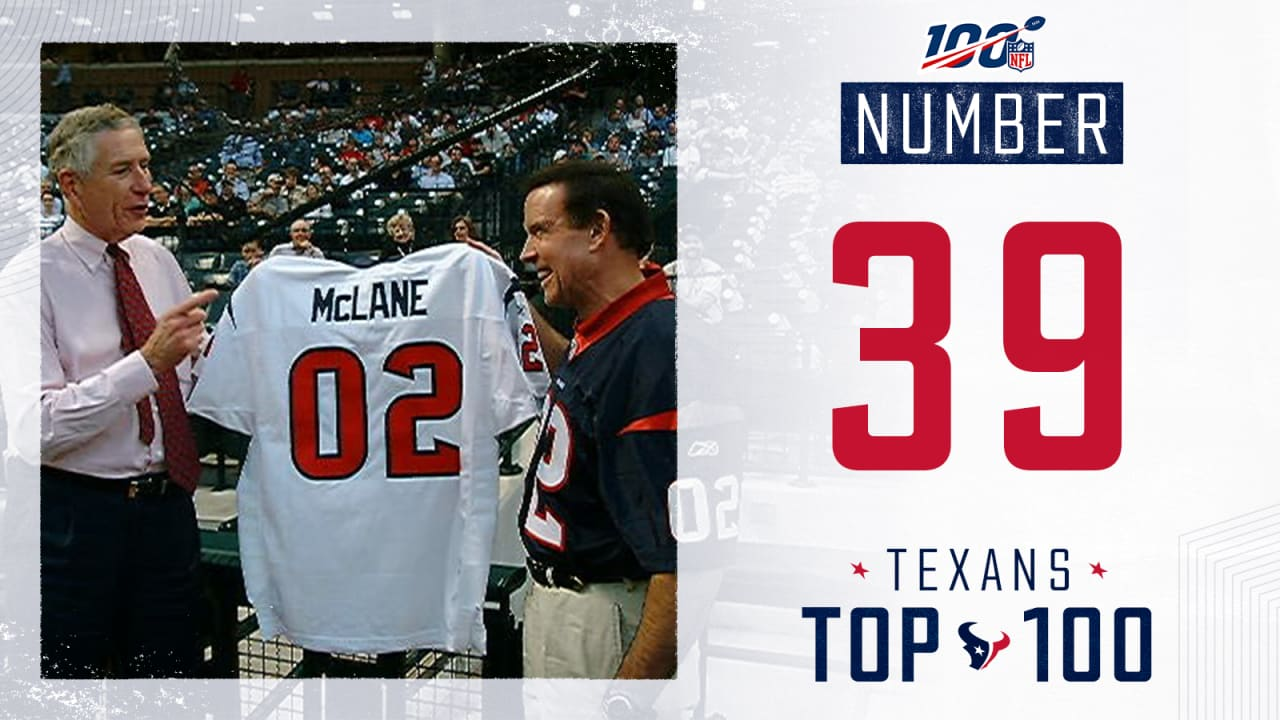 Texans Top 100 Unveiling The Texans Uniform