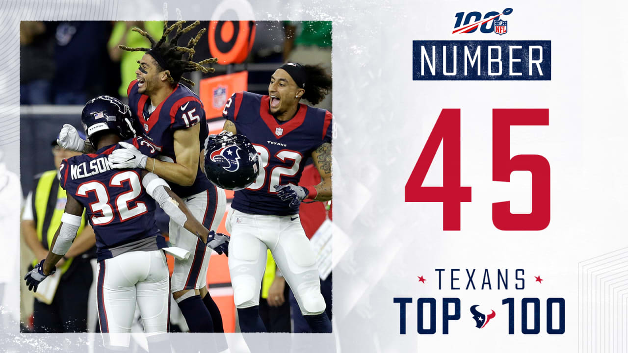 f7aac58c Texans Top 100: Texans clinch 2016 division title on Christmas Eve