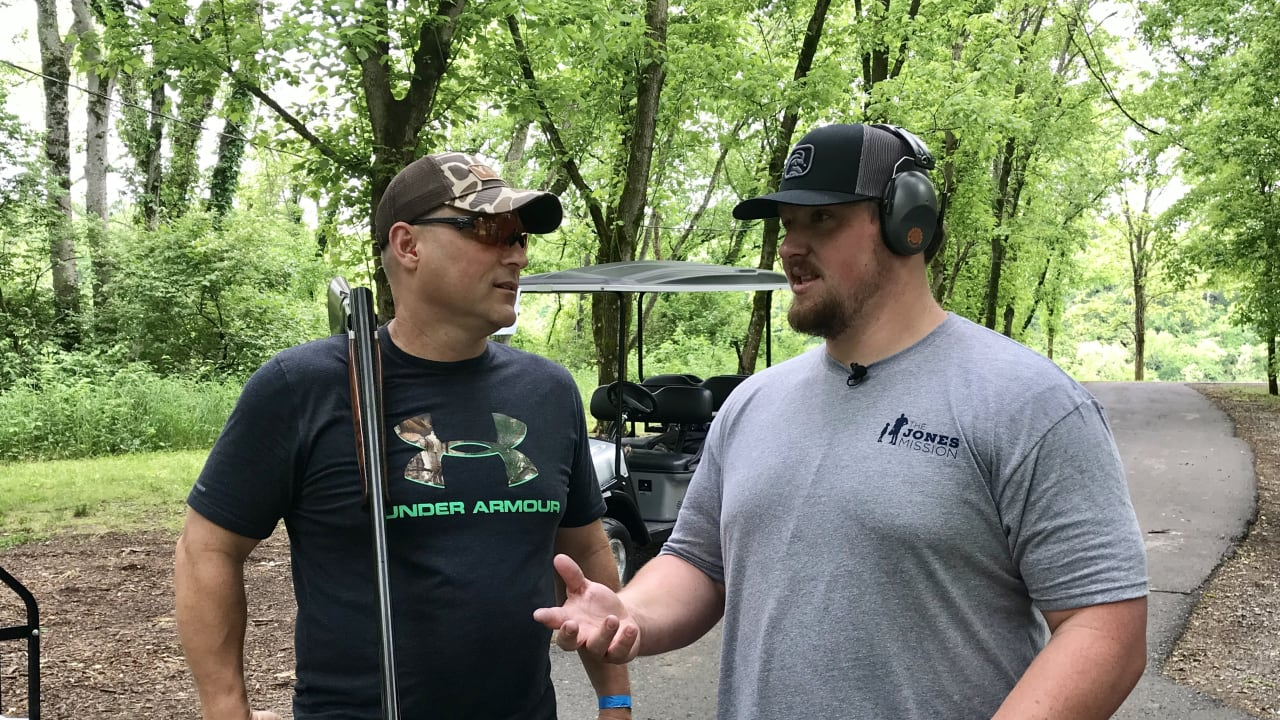 6761be56f Titans Center Ben Jones Gathers Teammates for Clay Shoot To Help At-Risk  Youth