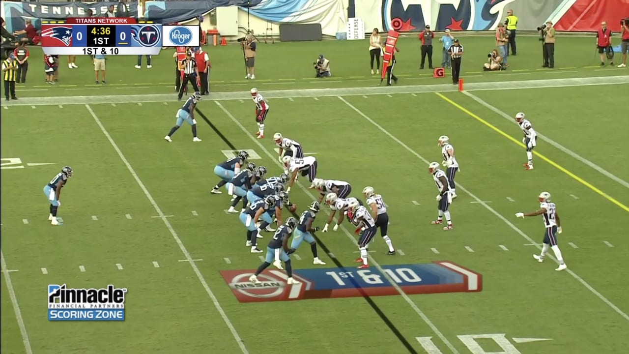 8b390e46 Top Highlights from Titans-Patriots Game