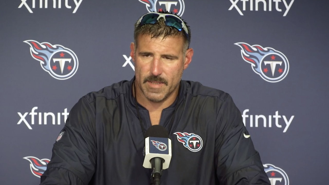 Nissan New Orleans >> Mike Vrabel on Progression of Rookie WR A.J. Brown
