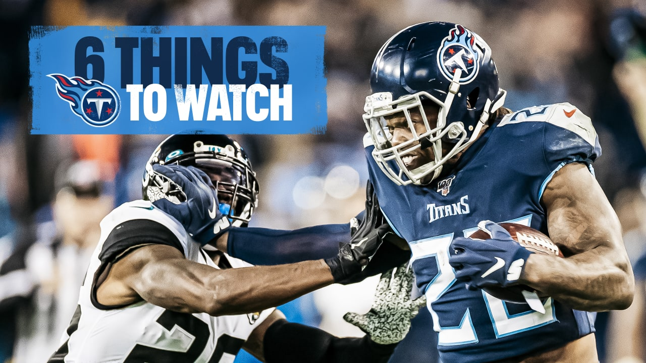 Six Things to Watch in Titans vs. Jaguars on Sunday