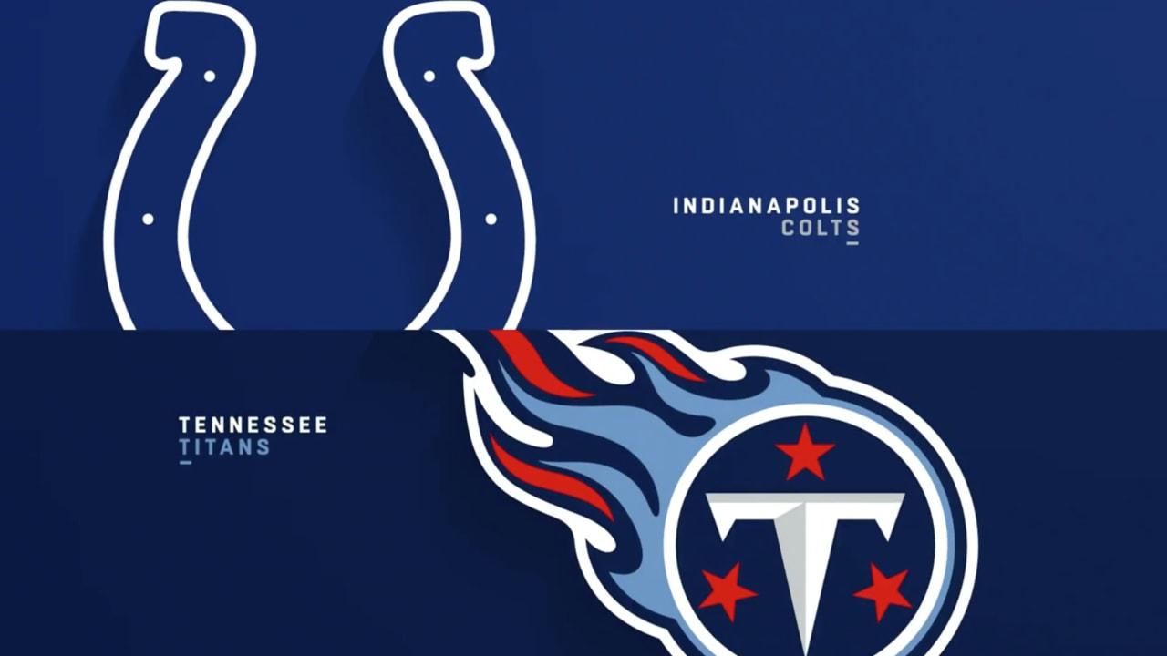 Titans Colts Highlights Week 17