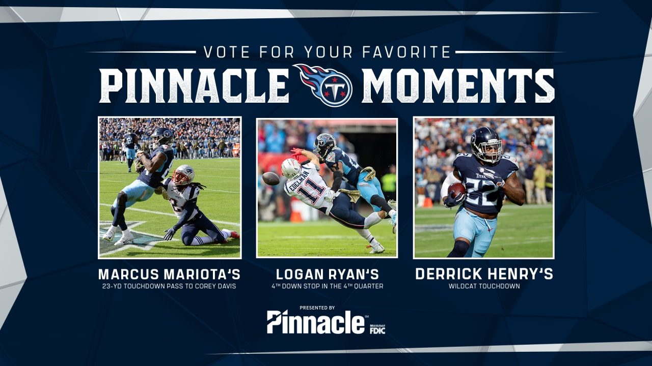 Pinnacle Moment Of The Game Titans Vs New England