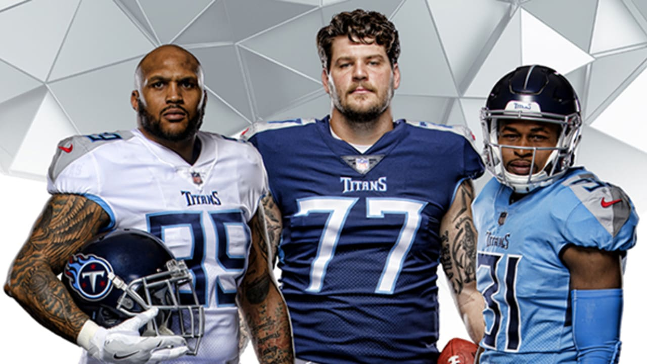 The Story Behind Titans New Uniforms And Helmet