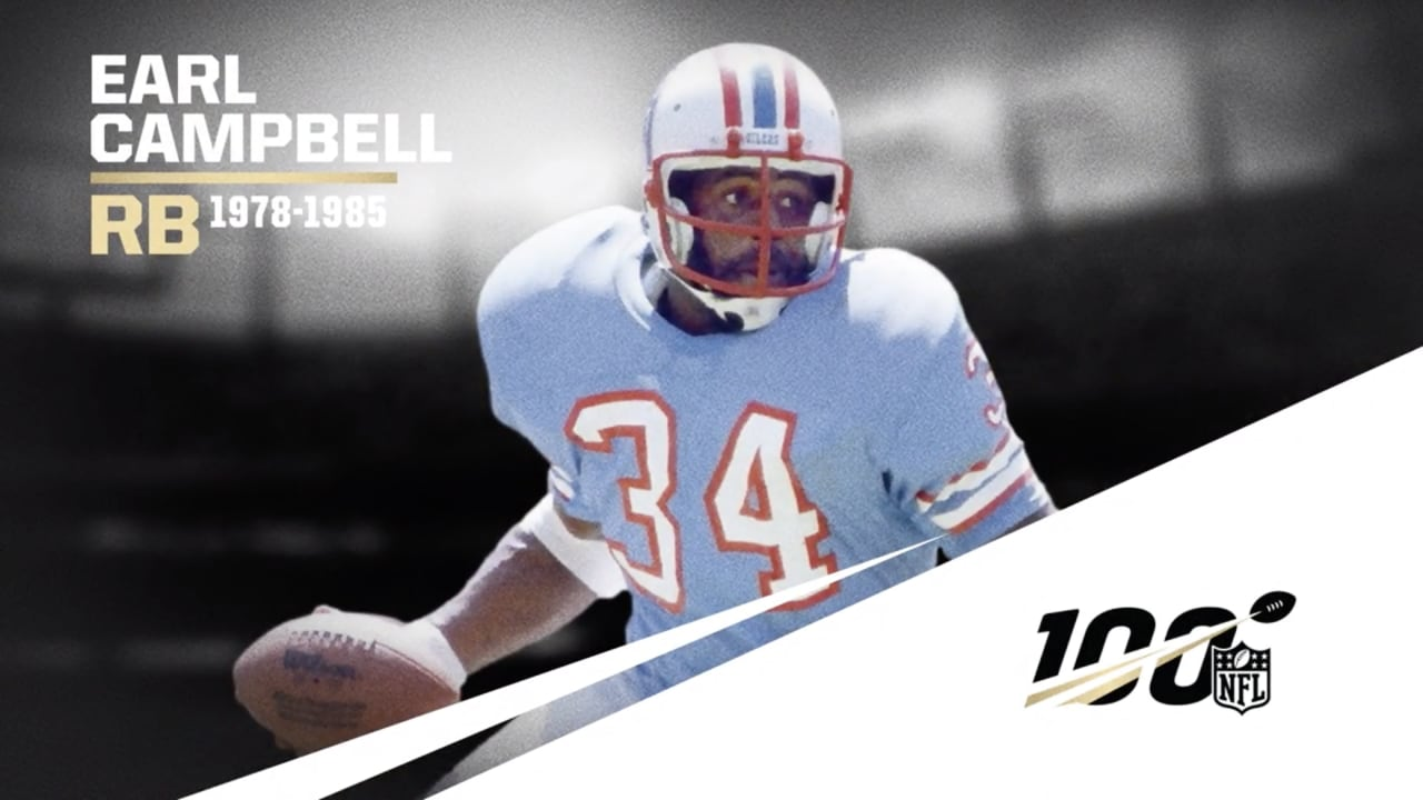 Jim Brown Highlights >> Nfl All Time Team Earl Campbell