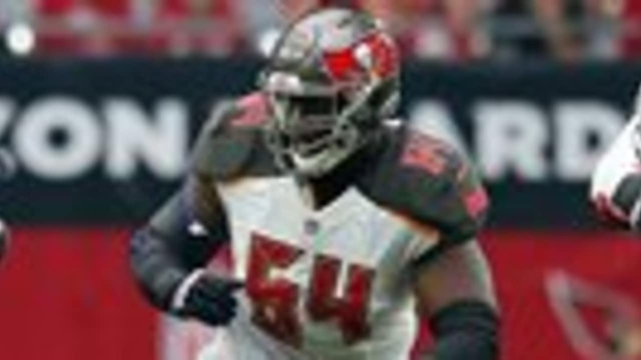competitive price ea54c dda05 Titans Reach Deal with Former Bucs Lineman Kevin Pamphile