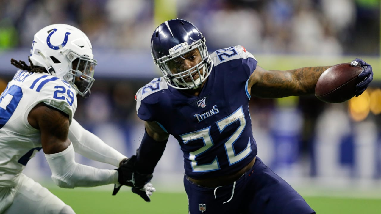 Titans Rb Derrick Henry Finishes With A Bang And Another
