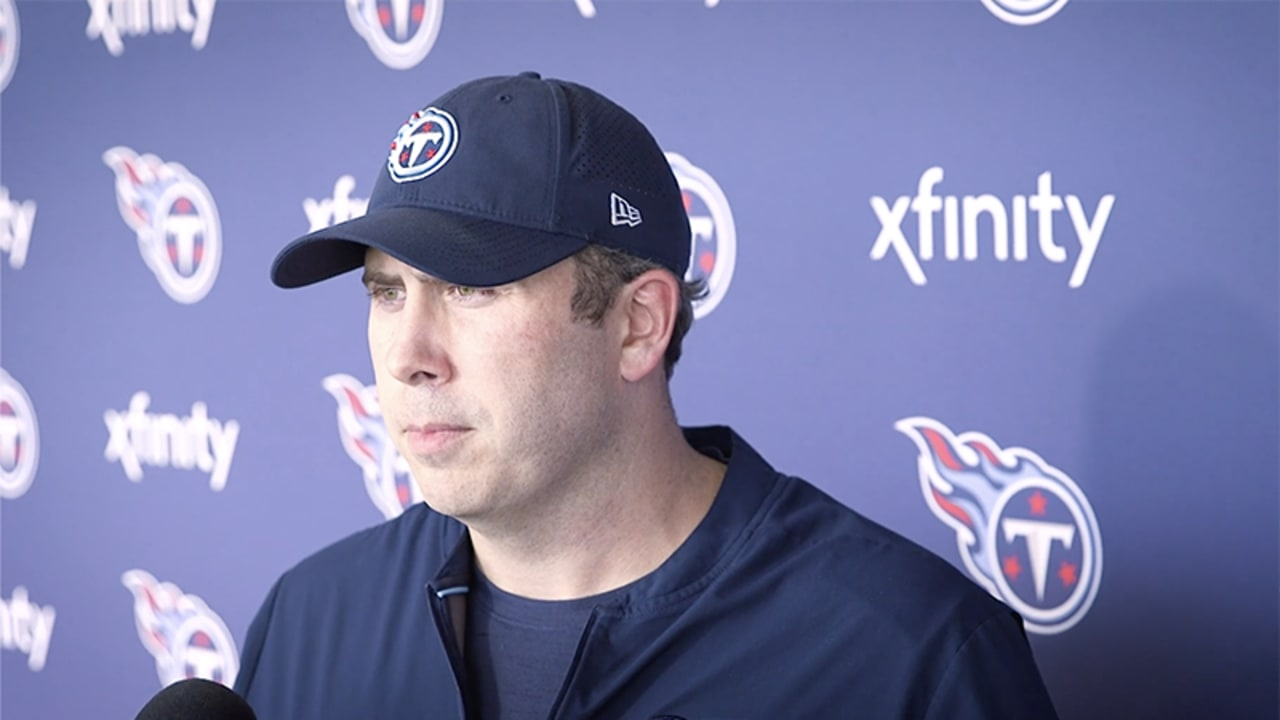 Titans Offensive Coordinator Arthur Smith: We Have a Lot ...