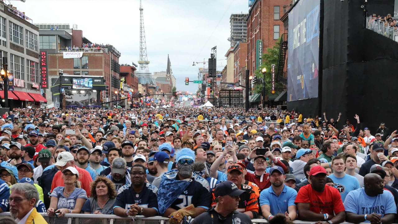 ab8927d3 2019 NFL Draft Generates a Record in Direct Spending in Nashville of ...