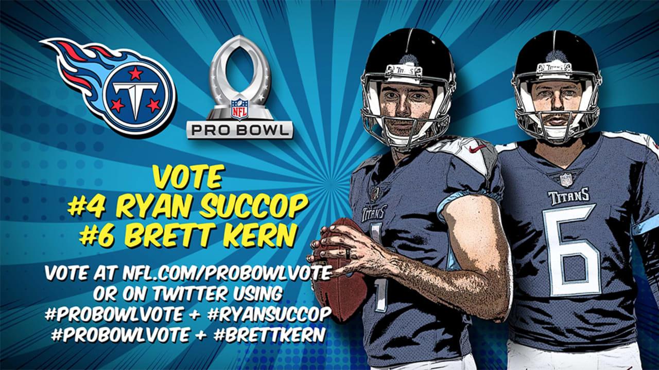 buy online 3f6c6 1b0e2 Help Vote Ryan Succop and Brett Kern to 2019 Pro Bowl