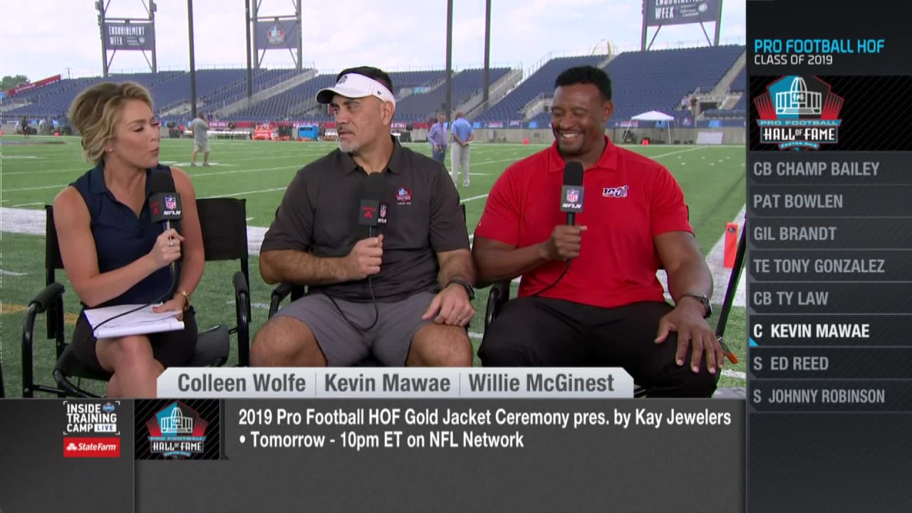 new styles f5eba f7a9d Pro Football Hall of Fame Inductee Kevin Mawae Reveals the ...