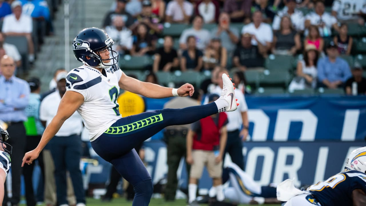 Seahawks Sign Pro Bowl Kicker Jason Myers