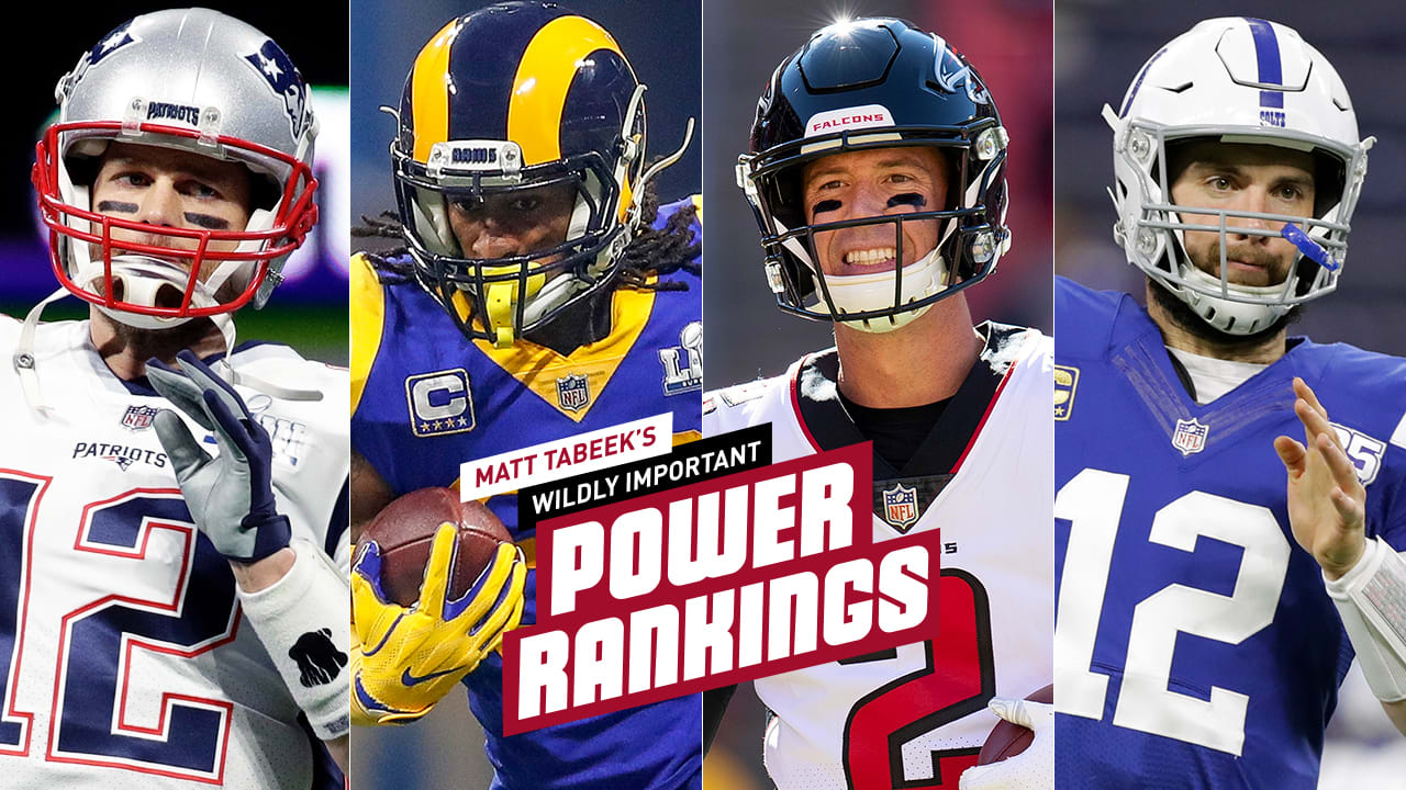 4fa218fc Tabeek's NFL Power Rankings: Falcons crack top 10 after draft