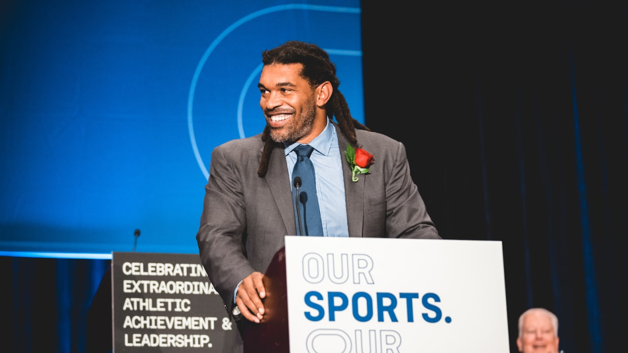Julius Peppers inducted into North Carolina Sports Hall of Fame