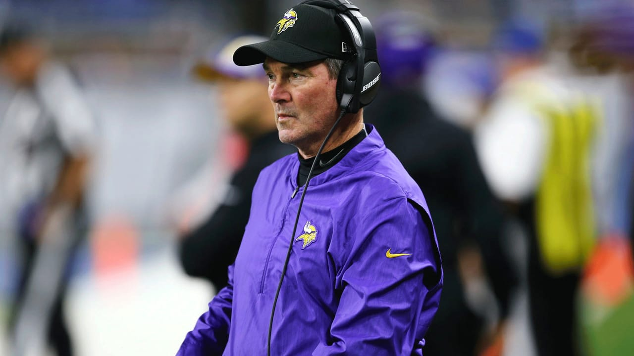Mike Zimmer Says Vikings Still Have Time to Address Offensive Line
