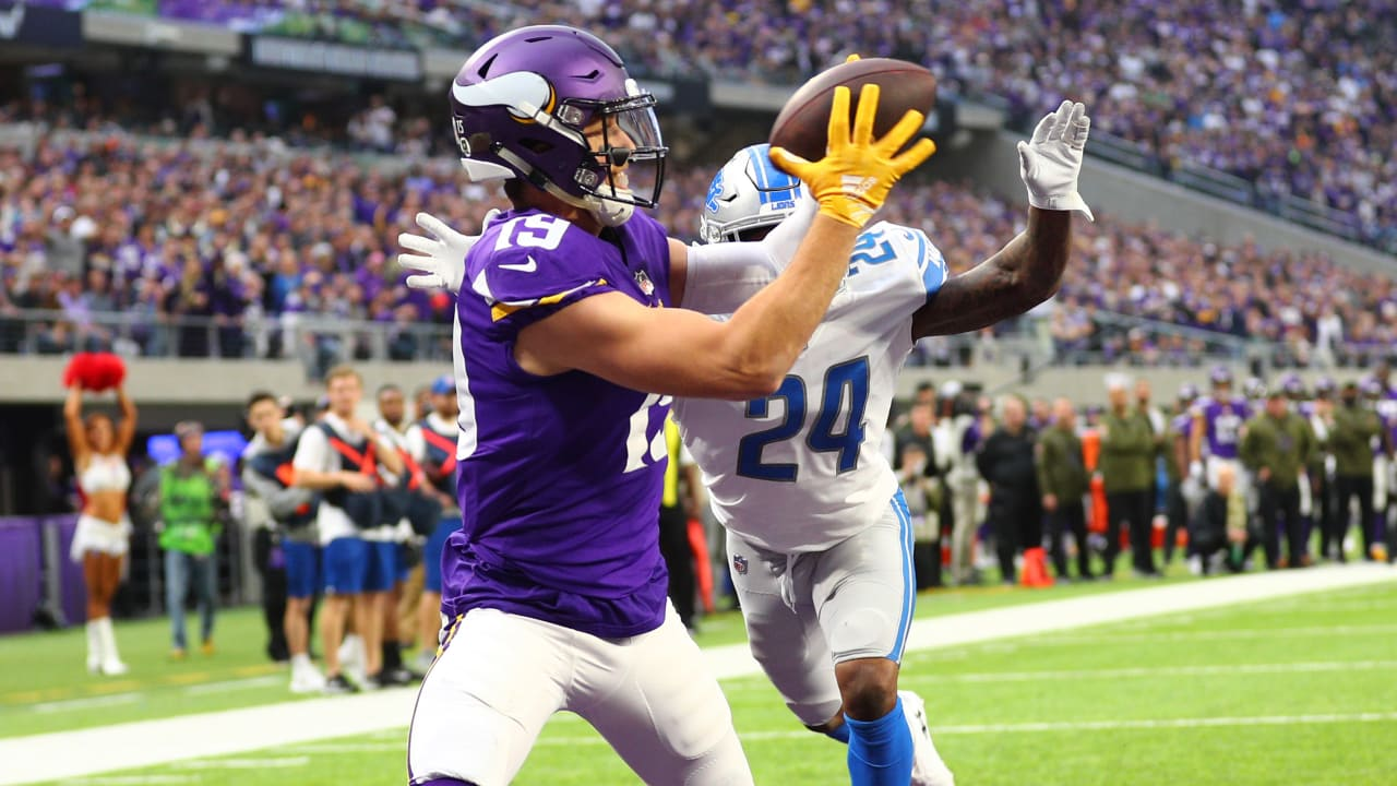61b1a9626 Adam Thielen With A Double-Move Move, Gets Wide Open For A Touchdown