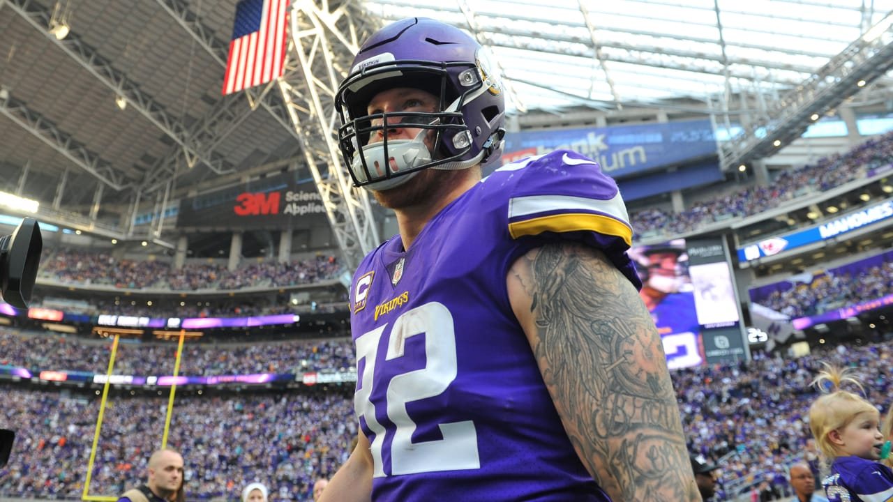 online store c8bed 5e9f8 Notebook: Kyle Rudolph on 'Clarity' with Vikings Talks