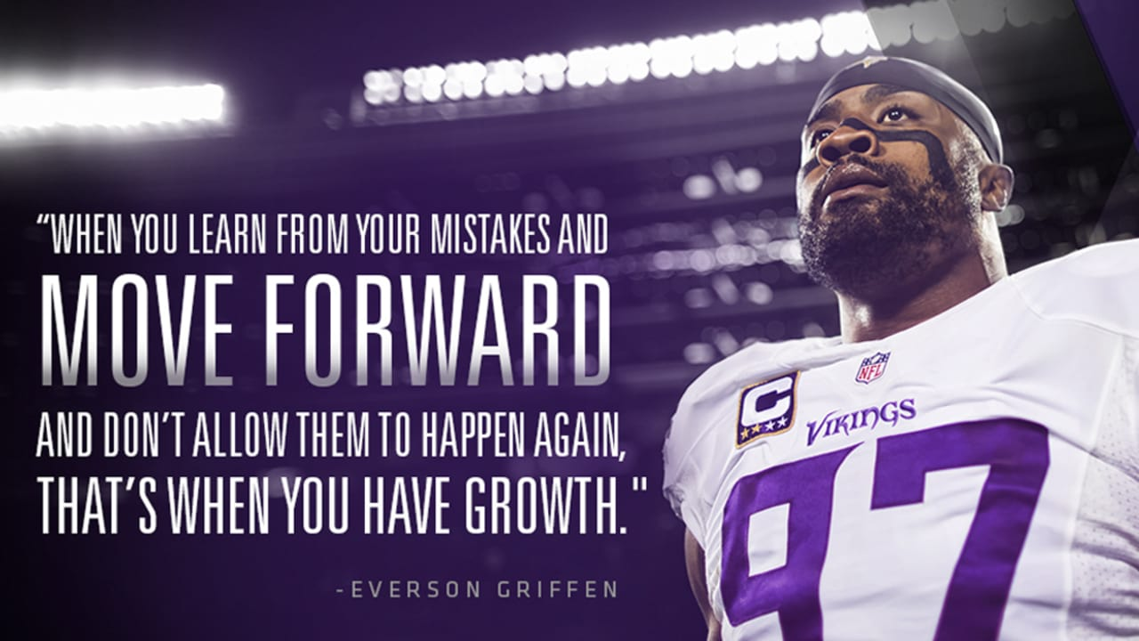best service 2cfee 0dc55 Fatherhood Impacting 'Sack Daddy' Everson Griffen's Game