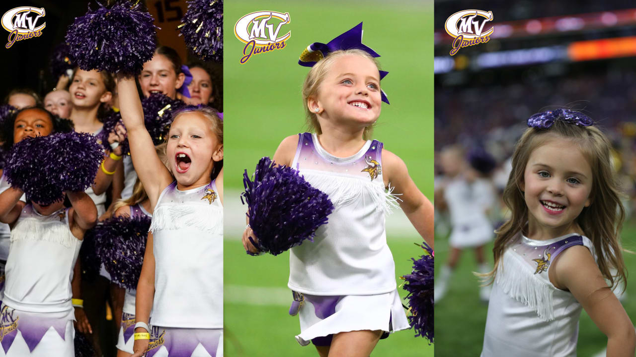 5c64ba5a Vikings Cheerleader Junior Cheer Program | Minnesota Vikings ...
