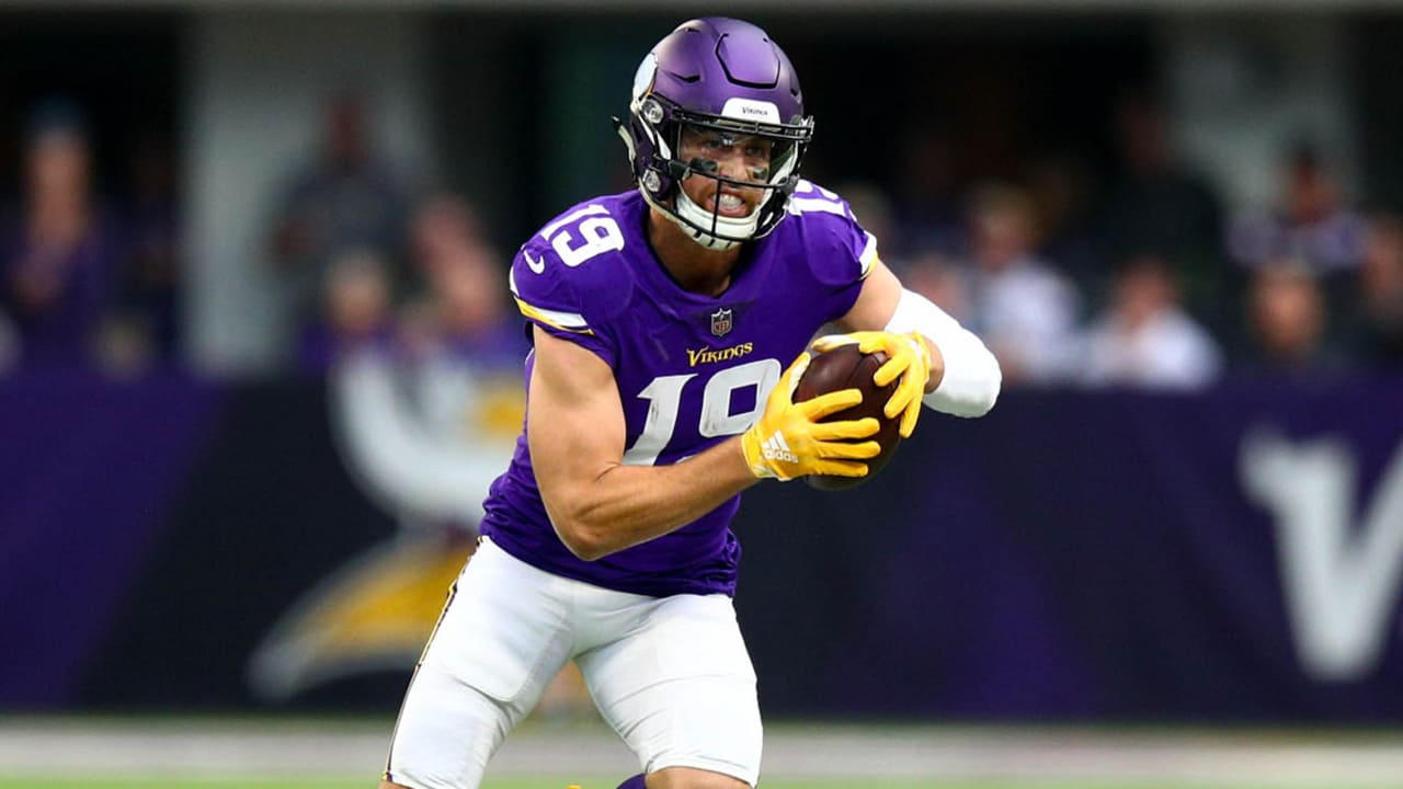 sports shoes 51bcc d320d Behind Another 'Mighty' Day from Adam Thielen, Vikings Fly ...