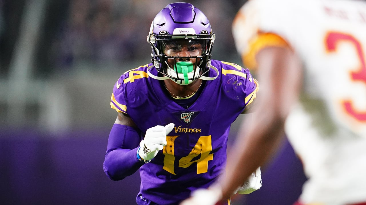 Every Stefon Diggs Catch Against The Redskins