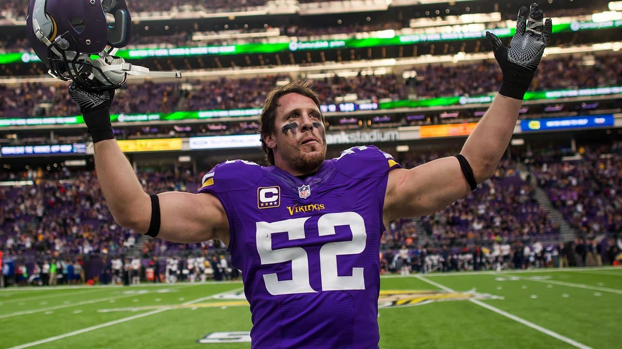 Vikings Wired  Chad Greenway s Final Game 02008f4f5